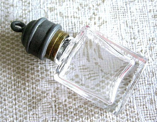 Small Glass Charm Bottle-France