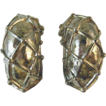 Vintage Givenchy Paris New York Silver Clip Earrings