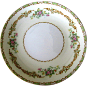 Rare Noritake China Salad Plate Claudia Pattern Number 583 Circa 1921-40
