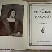 The Decameron of Boccaccio, Illustrated, Bibliophilist Society