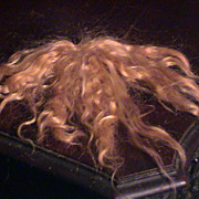 Golden Blonde Hand made mohair wig