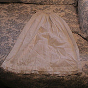 Antique Gown for Baby Doll