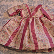 Very Lovely Vintage Antique Silk Dress