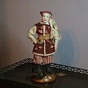 Vintage Cloth Male Doll - Probably 1940's