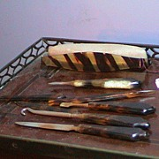 Antique Manicure Set