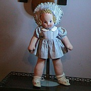 Really Cute Vintage Cloth Nursery Doll