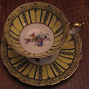 Royal Bayreuth Cup and Saucer - Bavaria 1794