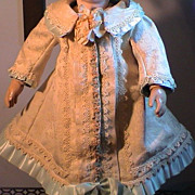 "Lovely Dress & hat for 20"" - 21"" Doll from Vintage and Antique Materials"