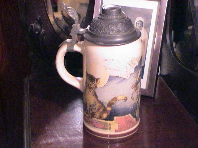 Antique Villeroy and Boch Stein - Singers