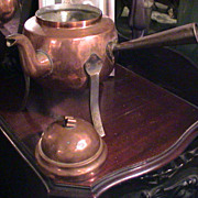 very old Copper over Tin Tea Kettle or Coffee Pot