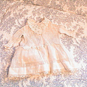 "Antique Doll Dress for 16 to 17"" doll"