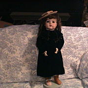 Fabulous Antique Doll Coat for 20-22 inch dolls