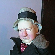 Effanbee's 1989 W.C. Fields - 17""