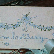 REDUCED Lovely Vintage Embroidery Case