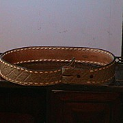REDUCED Vintage Tony Lama Belt - No Buckle