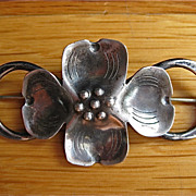 Dogwood Sterling Silver Hand Made