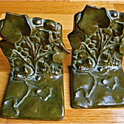 McClelland Barclay Bronze Ivy Bookends