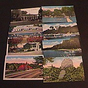 SALE Vintage Lot 8 Niles Michigan Postcards
