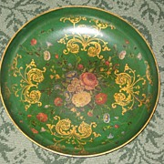 Rare Green Jennings and Betteridge Papier Mache Bowl c.1870