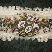 19th Century Beadwork Cushion c. 1870