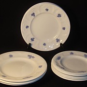 "SOLD Adderleys ""Chelsea Grape"" Plates, Set of 10"