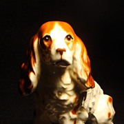 Vintage Japan English Springer Spaniel Figurine