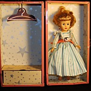 "Belle Doll and Toy Corp. ""Little Miss Margie"" Doll & Wardrobe Trunk"