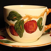 Franciscan Apple (U.S.A.) Over-Sized Cup & Saucer