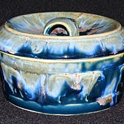Denbac French Art Deco Pottery Covered Box, #70 [Denert & Balichon]