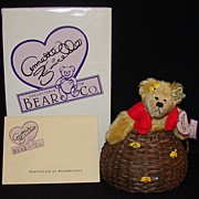"Annette Funicello ""Buzz Bee"" Limited Edition Teddy Bear, w/Box"