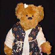 "Annette Funicello ""Noah"" Limited Edition Teddy Bear, w/Box"
