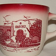 "Wallace China Southwestern Military Academy ""Lincoln Hall"" Cup [only]"