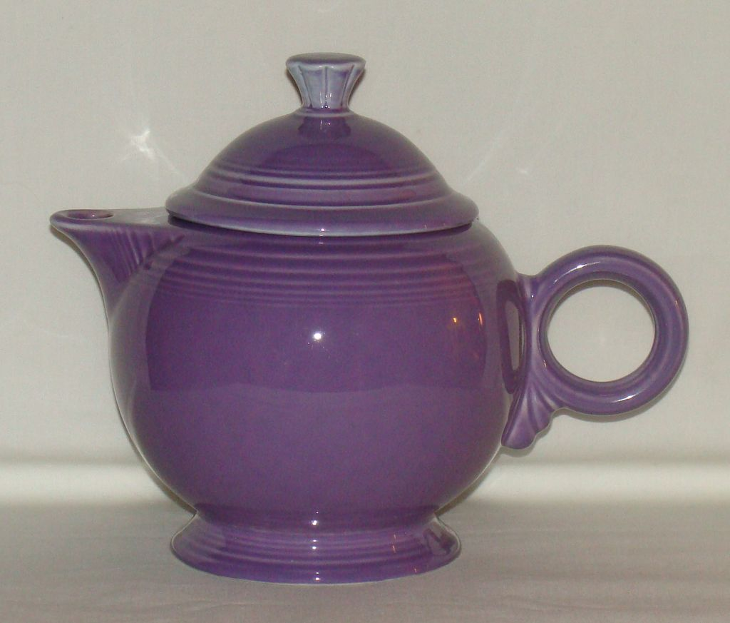 Homer Laughlin Fiesta Ware Lilac Teapot