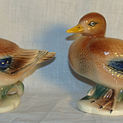 American Pottery Brad Keeler Mallard Ducks, Set of 2