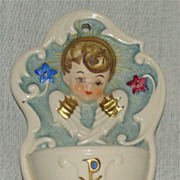 Goebel W. Germany Rob #423 Holy Water Font