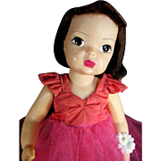Terri Lee Doll in Tagged Rare Formal #1075 1950s