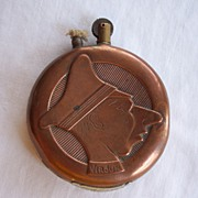 Vintage Copper   WWI   Verdun/Paris Lighter