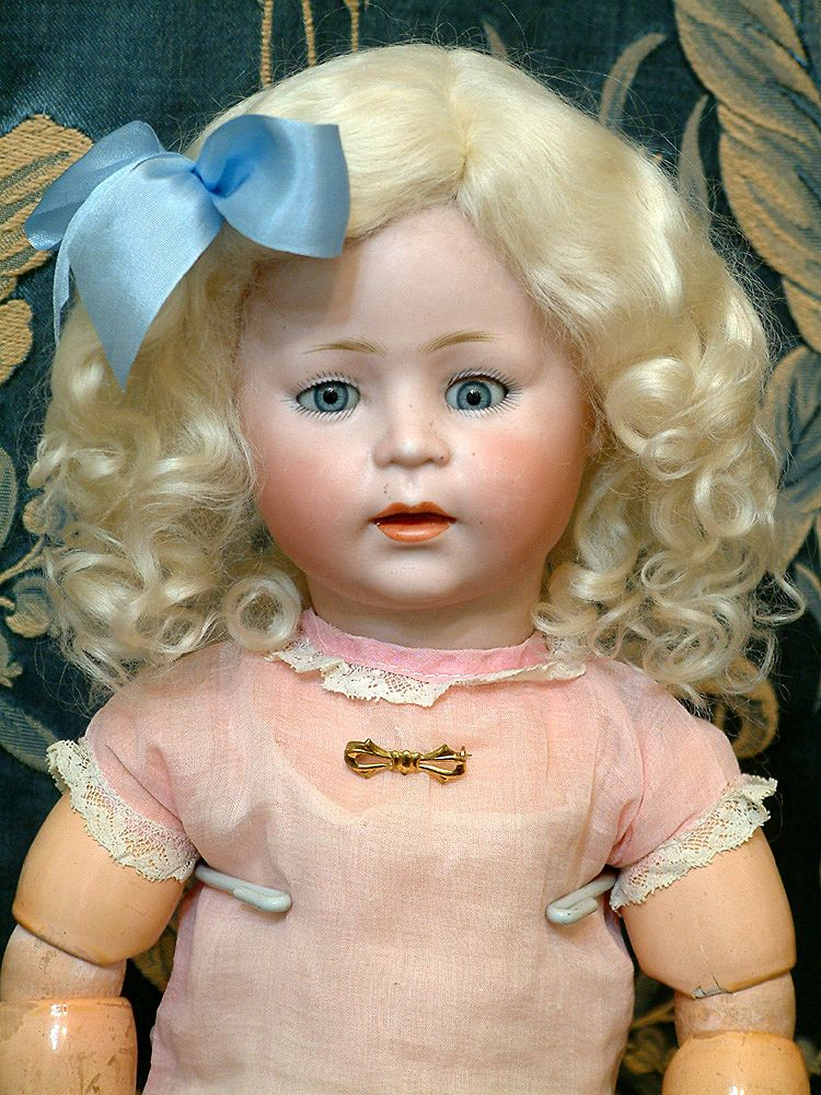 &quot;Awwe&quot; Inducing 17&quot; Simon & Halbig 1488 Rare Character Child Doll SO CUTE!