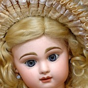 "27"" ANGELIC  Extraordinarily RARE French Paris Bebe By Danel Antique French Doll Superb!"