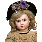"23"" Henri Alexandre PHENIX French Bebe Doll- All Antique & All SUPERB!"