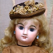 "SALE 18"" French Bebe Mascotte All Antique Doll ONE OF A KIND Angel!"
