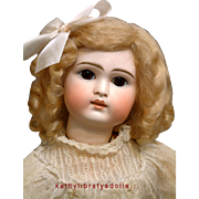 "Marvelously PERFECT 18"" Belton All Antique (Except Wig) German Child Doll RESEMBLES STEIN"