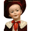 "Extraordinary Frenchman: 20"" SFBJ Doll 227 All Original Antique Character Boy!"
