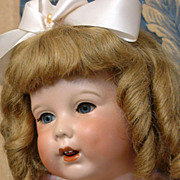 Super Rare ADORABLE 23� Antique Unis 251 Chunky Character Toddler So Called 'TWIRP' French Chi