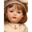 "Extremely Rare 20"" Gorgeous Bahr & Proschild 604 Toddler Character Antique Baby Doll"