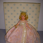 "Nancy Ann Storybook Doll Bisque ""In Powder and Crinoline"" MIB!"