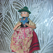 Vintage German BAPS Ethic Lady Doll