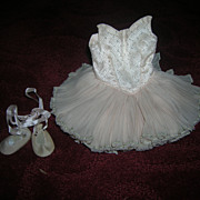 Vintage Mary Hoyer Tagged Rare Ballerina Outfit with Shoes