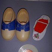 Vintage Original Mattel Charmin' Chatty Record & Shoes!