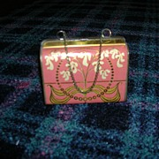 Vintage Unusual Metal Purse Container